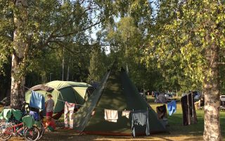 No car camping in Helsinki