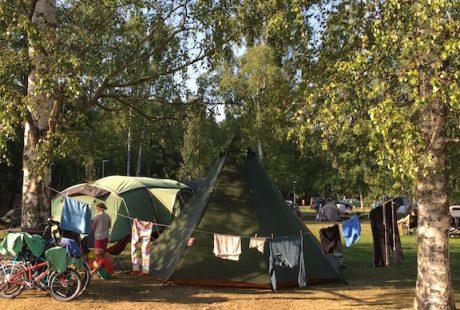 No car camping in Helsinki