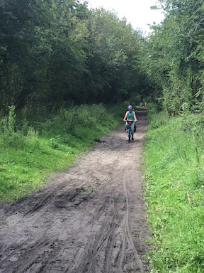 Dove Valley Trail on the Trans Pennine Trail