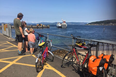 Waiting for the ferry at Largs
